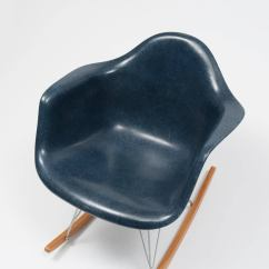 Navy Rocking Chair Stair Lift Eames Blue Shell Herman Miller 1962