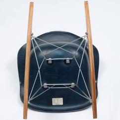 Navy Rocking Chair Hanging Hooks Eames Blue Shell Herman Miller 1962