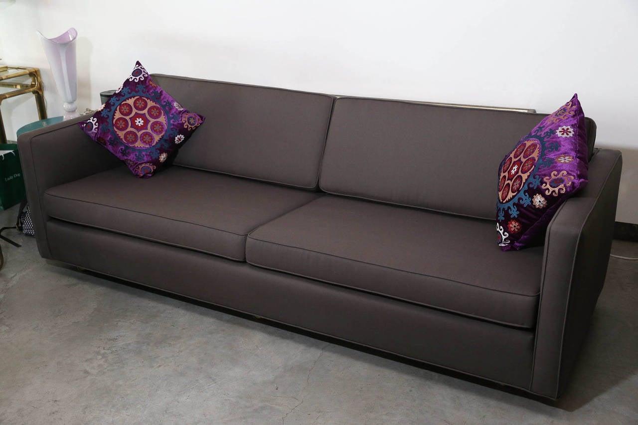 holly hunt sofa cost black rattan corner set fabric sofas recliner and suites harveys furniture