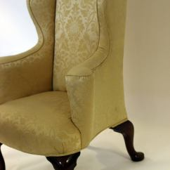 Wingback Chair For Sale Crushed Velvet Covers 18th Century English Georgian At