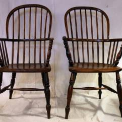 High Back Chairs With Arms Alba Slat Dining Chair 18th Century Set Of Eight Windsor