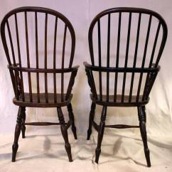 High Back Dining Chairs Wheelchair With Seat 18th Century Set Of Eight Windsor