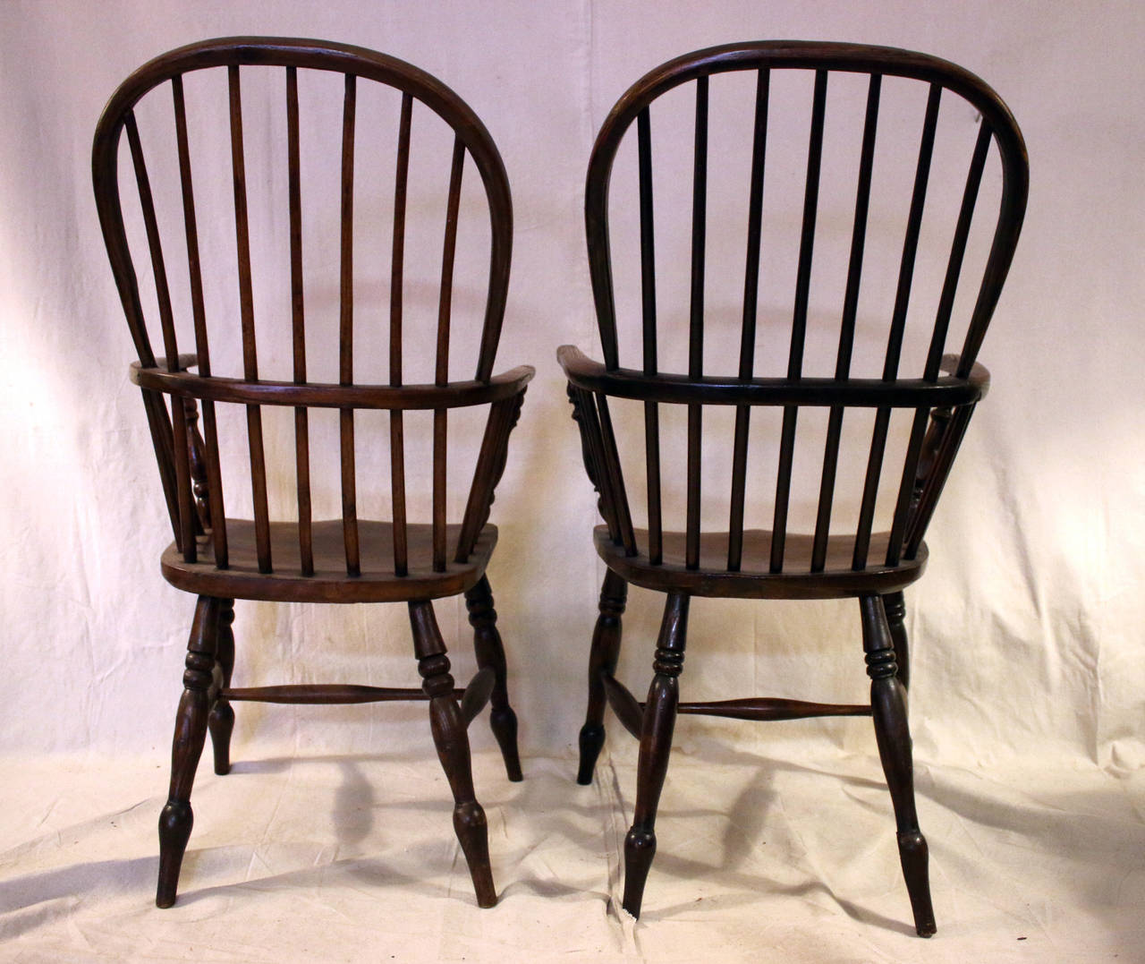 high back dining chairs carolina panthers chair 18th century set of eight windsor