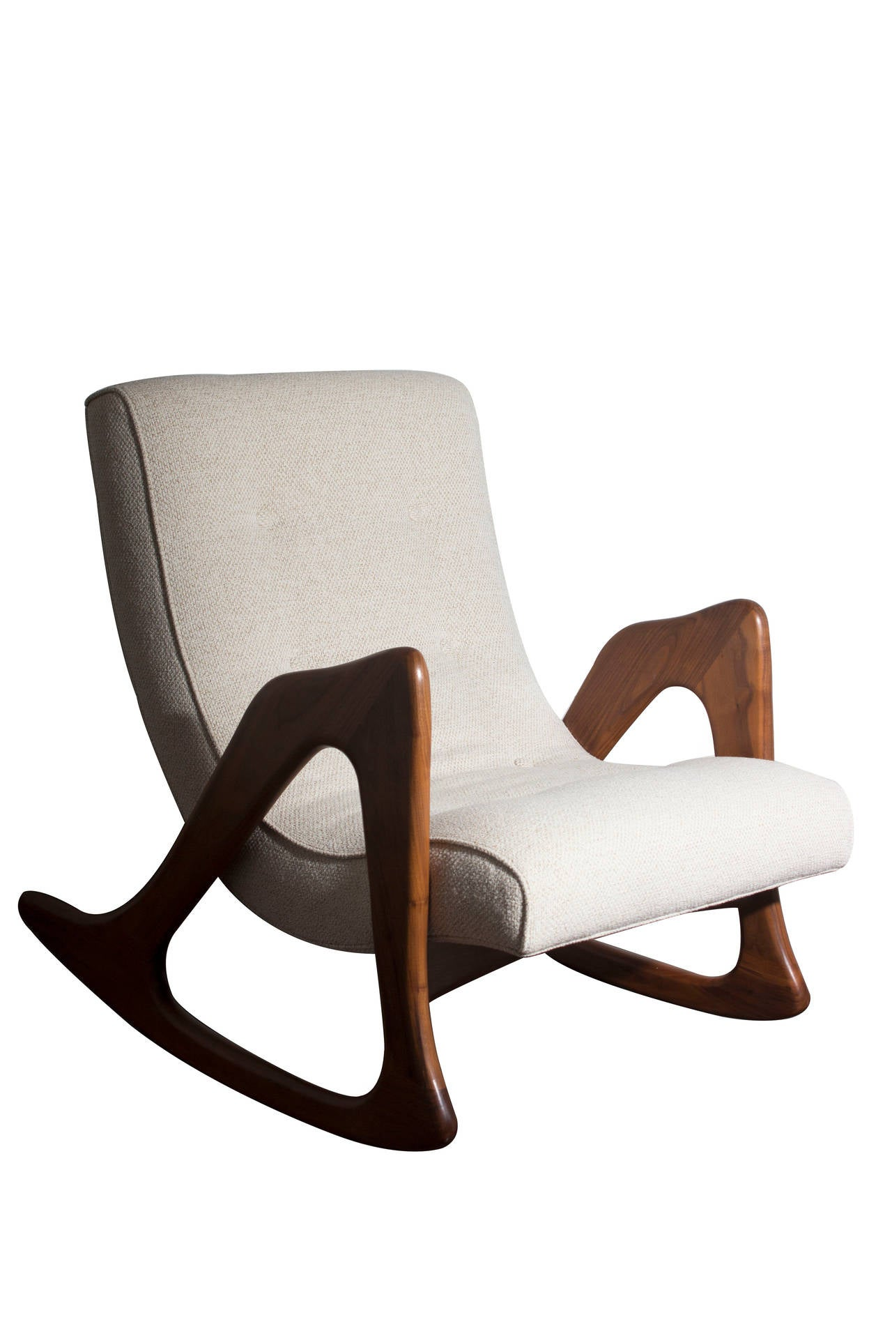adrian pearsall rocking chair wedding covers hawaii sculptural pair of rocker chairs at 1stdibs