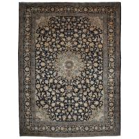 Authentic Persian Kashan Rug, Hand-Knotted at 1stdibs