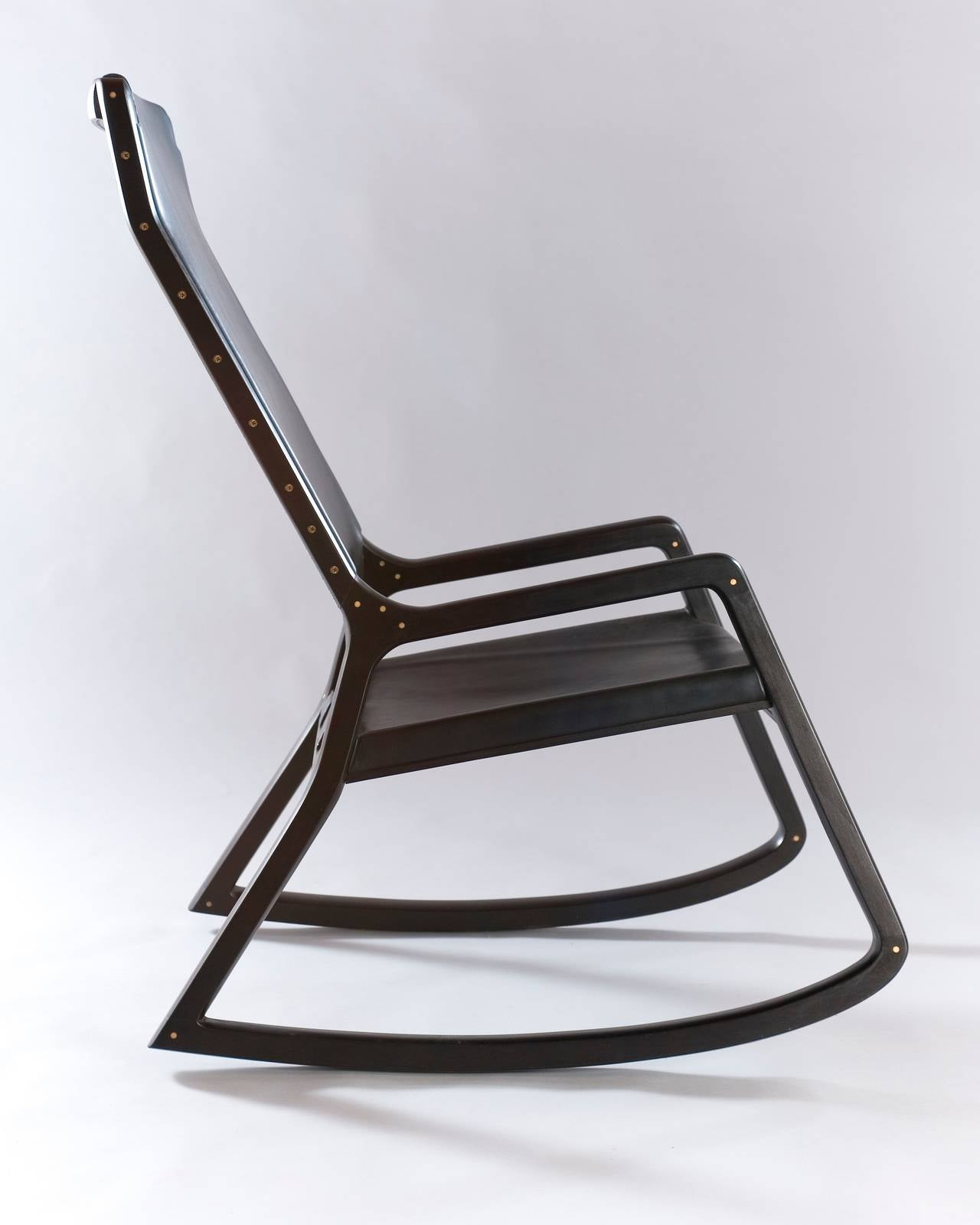 maple rocking chair henredon asian dining chairs lookout mountain rocker ebonized for sale at