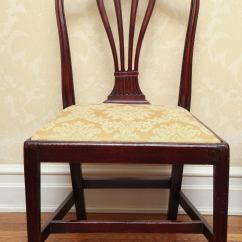 Medieval Dining Chairs Elastic Chair Covers Set Of Eight George Iii Mahogany In The