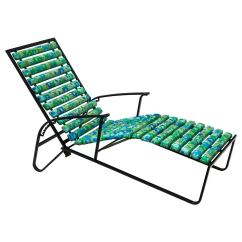 Steel Lounge Chair The Best Office For Back Pain Tubular Patio Reclining By Samsonite