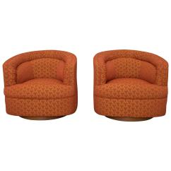 Swivel Club Chair Top Rated High Chairs 2018 Milo Baughman Style At 1stdibs