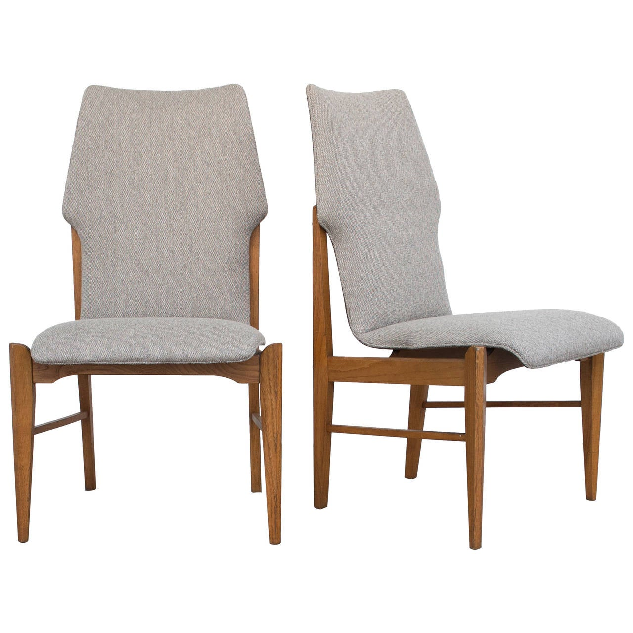 Modern Dining Chairs Four Kodawood Danish Modern Dining Chairs At 1stdibs
