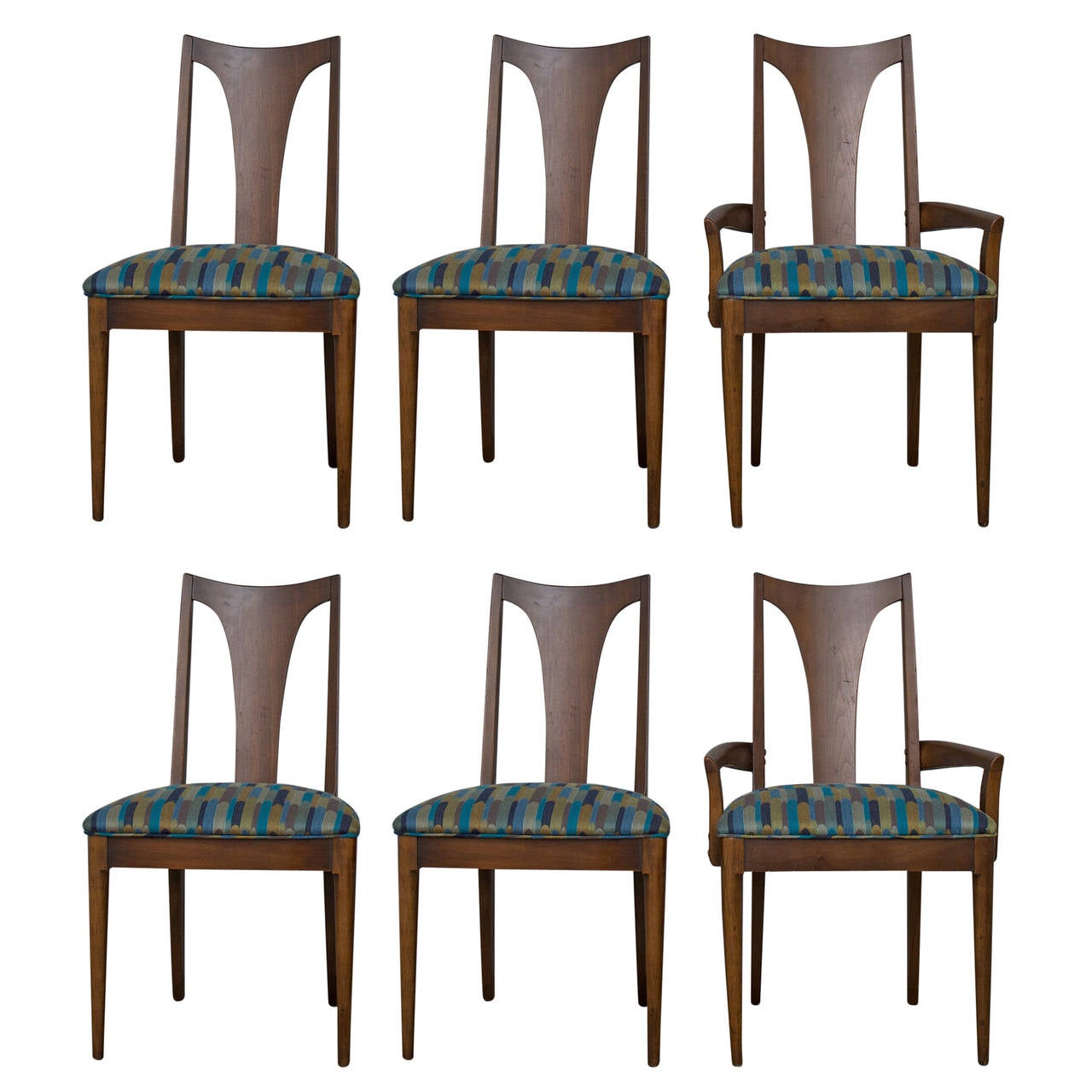 mid century dining chairs chair covers in ireland modern vintage walnut for sale