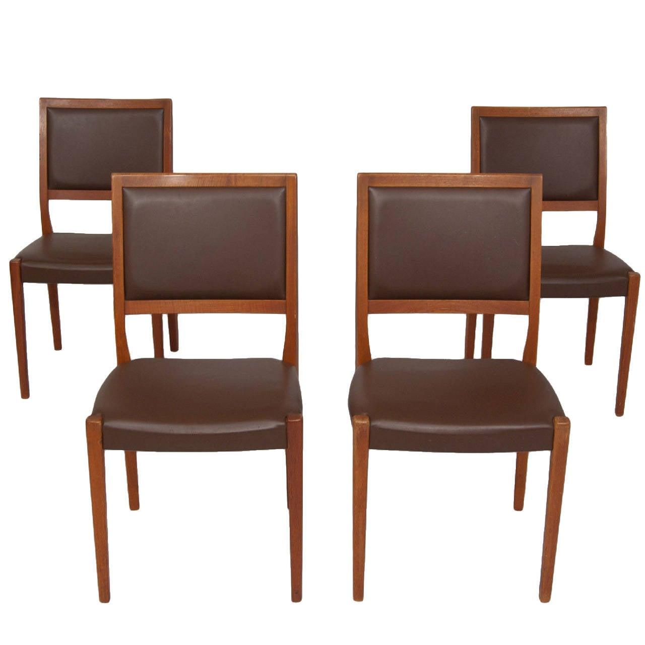 set of 4 dining chairs paris bistro outdoor svegards markaryd four teak for sale