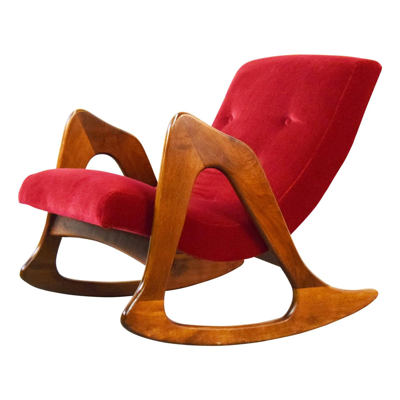 adrian pearsall rocking chair folding chairs on sale for craft associates