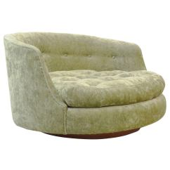 Large Lounge Chair X Rocker Gaming Parts Milo Baughman Swivel At 1stdibs