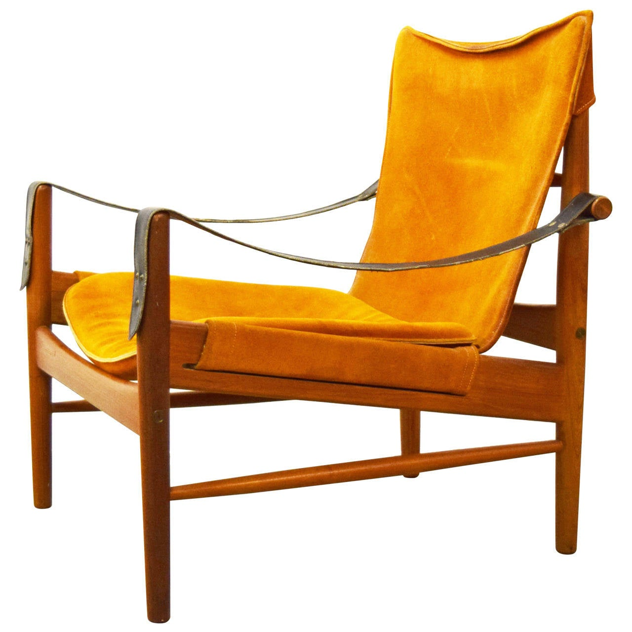 Safari Chair Hans Olsen Safari Chair At 1stdibs