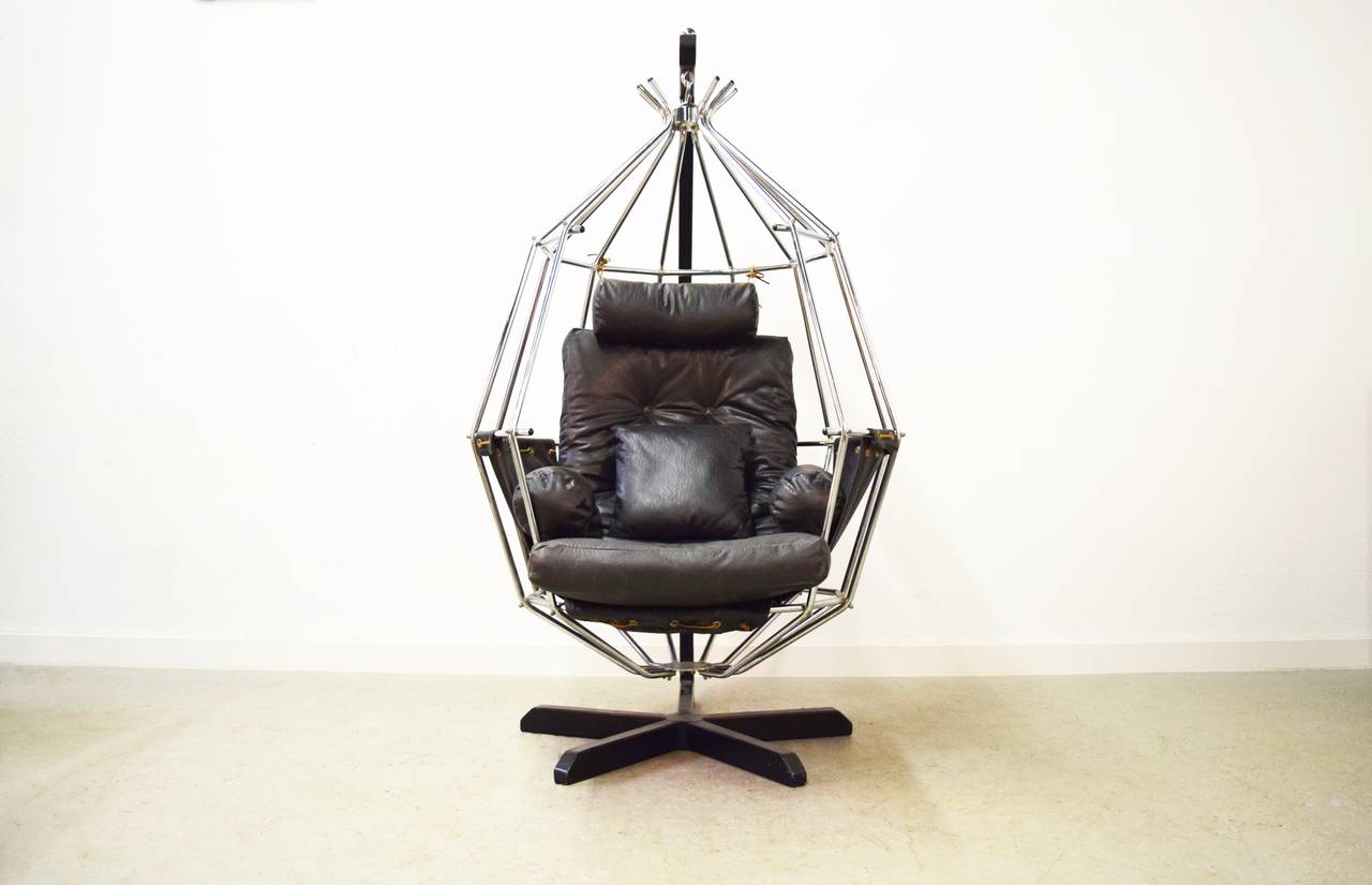 hanging chairs for sale chairwoman ib arberg birdcage chair at 1stdibs