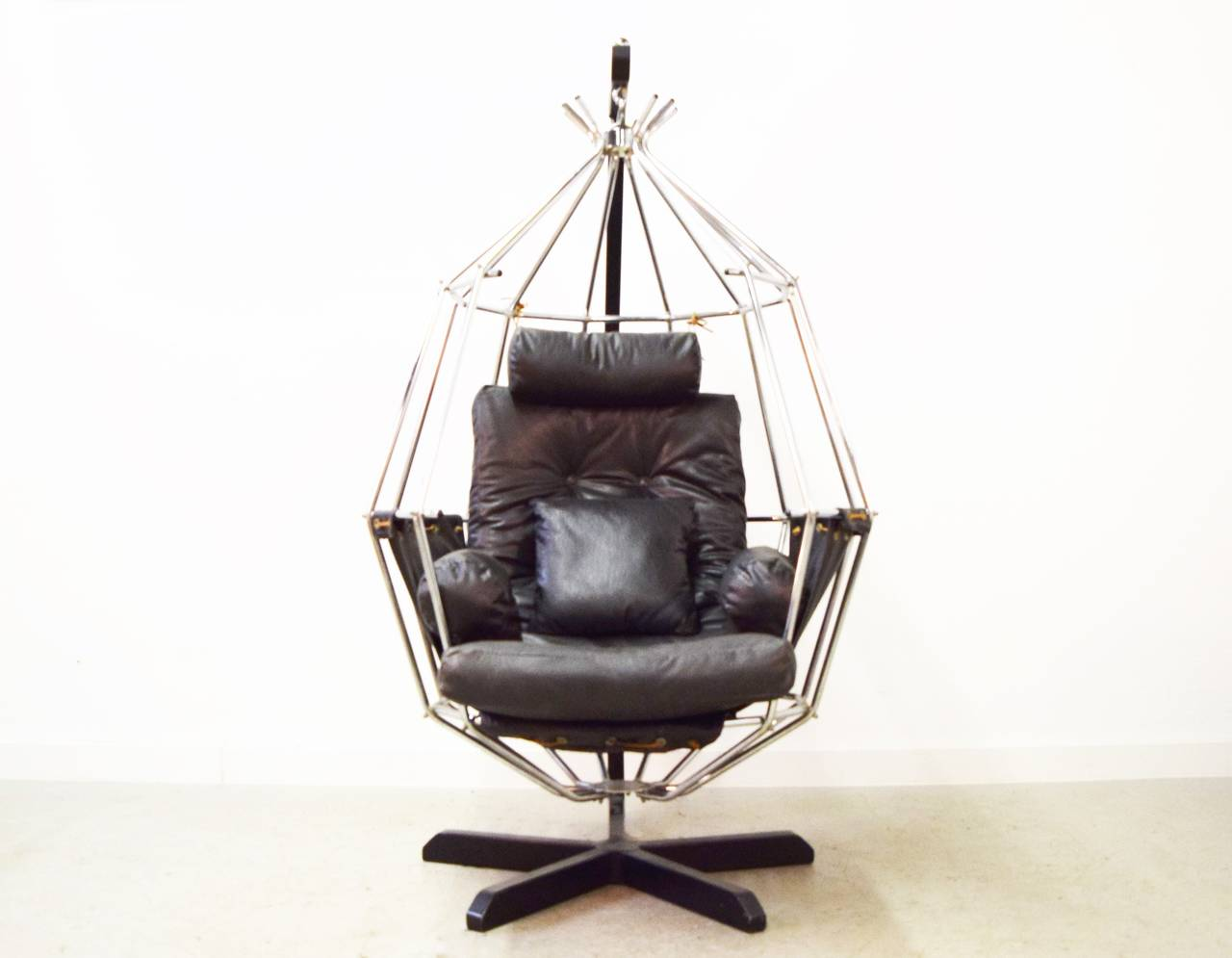 hanging chairs for sale adams adirondack stacking chair ib arberg birdcage at 1stdibs