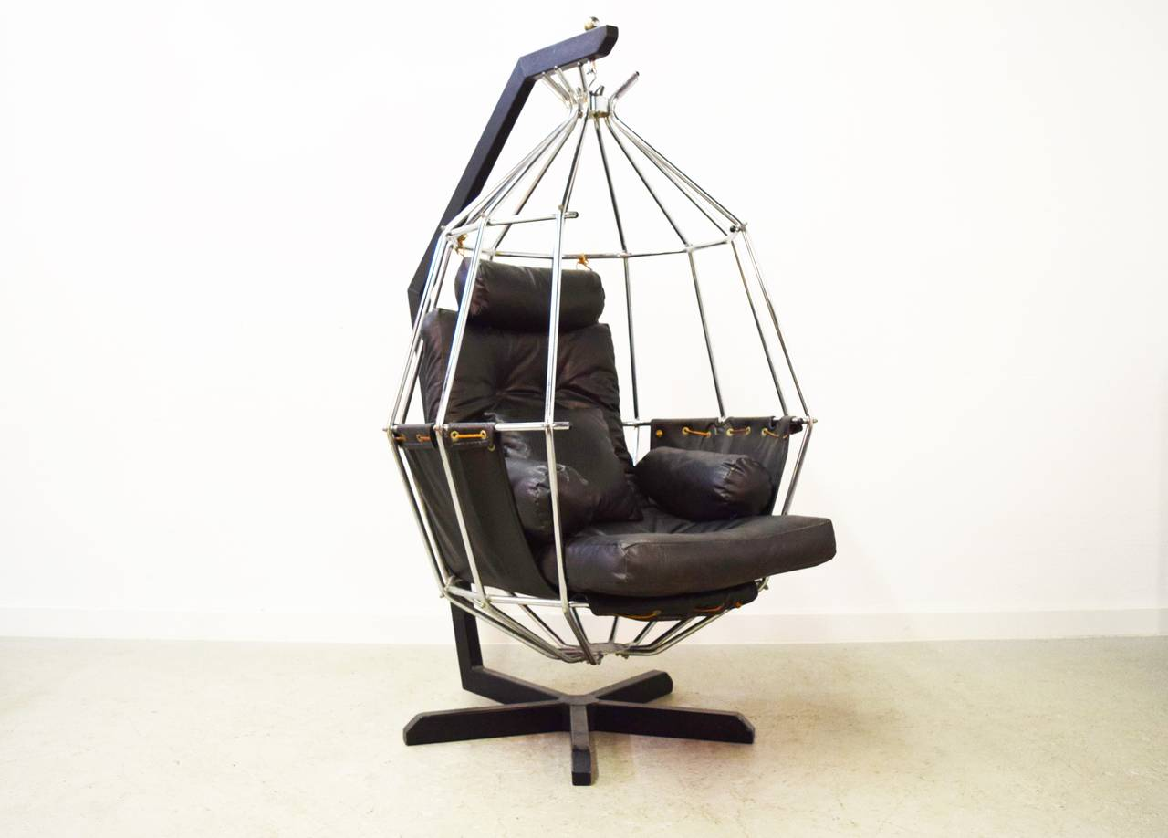 hanging chairs for sale 16 round outdoor chair cushions ib arberg birdcage at 1stdibs