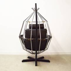 Hanging Chairs For Sale Outdoor Rocking Tractor Supply Ib Arberg Birdcage Chair At 1stdibs