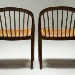 String Chair Seat Leather Captains For Sale Stunning Pair Of Mid Century Chairs With Woven