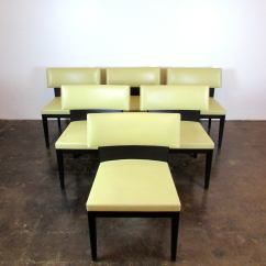 Holly Hunt Sofa Cost Cream Soft Fabric Set Of Six Christian Liaigre For Dining Chairs