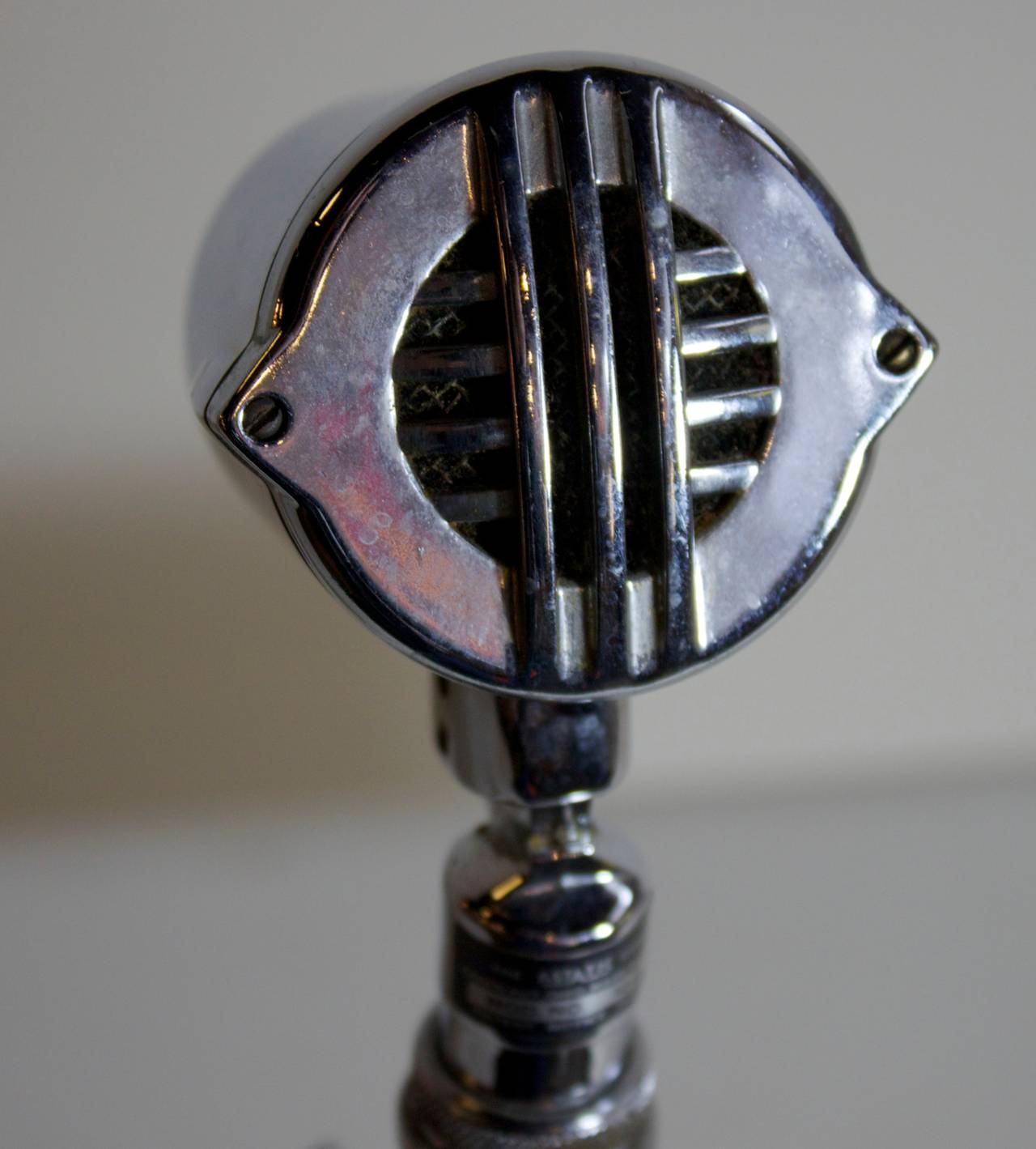chair mic stand swivel high vintage microphone and at 1stdibs