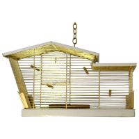 Midcentury Architectural Bird Cage at 1stdibs