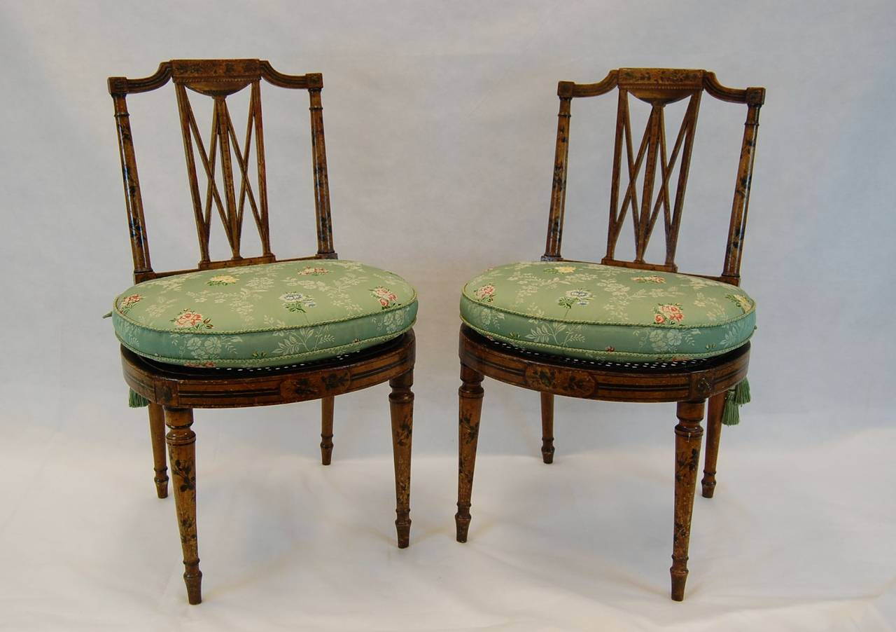 cane with chair black leather club recliner pair of 19th century english chairs seats for