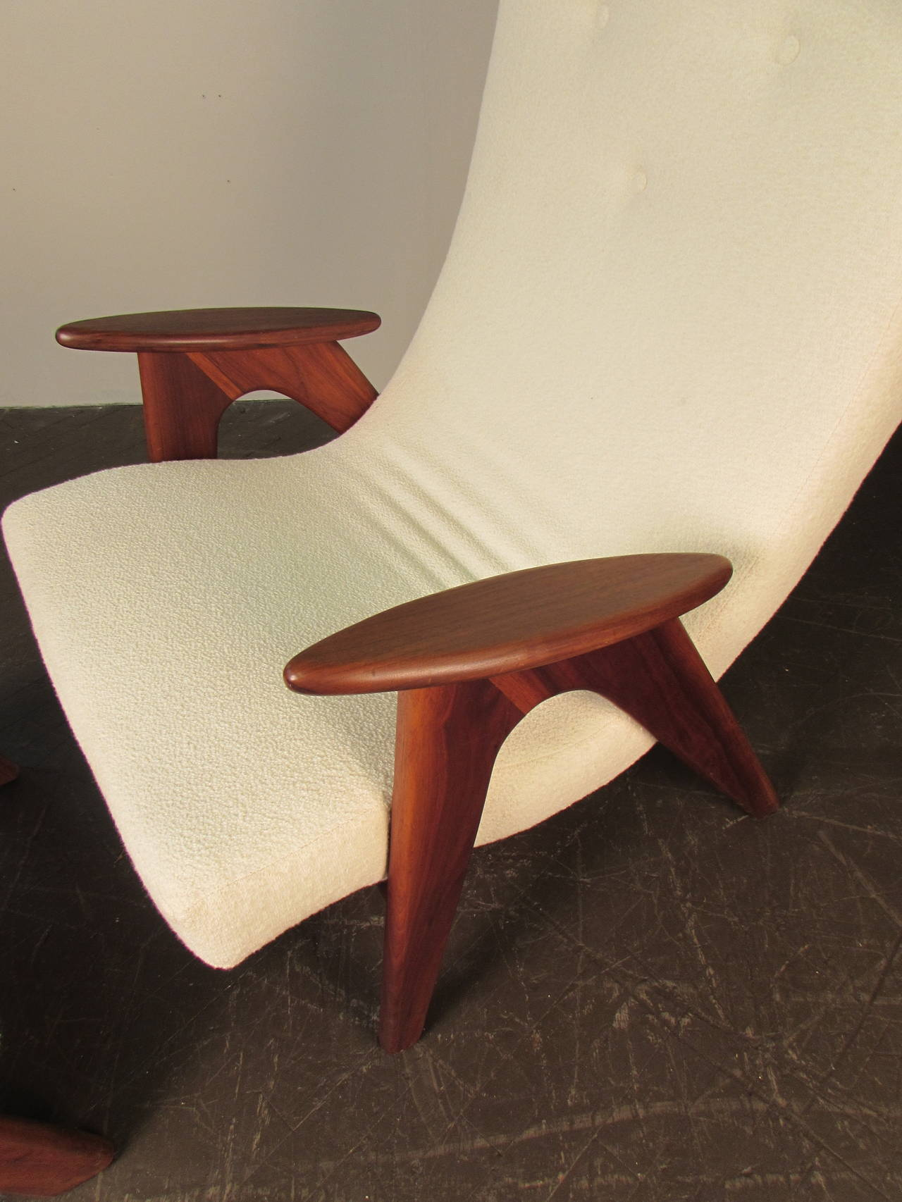 comfy chair and ottoman executive office chairs johannesburg rare very comfortable lounge by