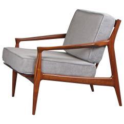 Teak Lounge Chair England And A Half Glider Sculptural Danish Modern By Ib Kofod