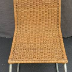 Mart Stam Chair Chairs And Ottomans Upholstered Wicker Dining At 1stdibs