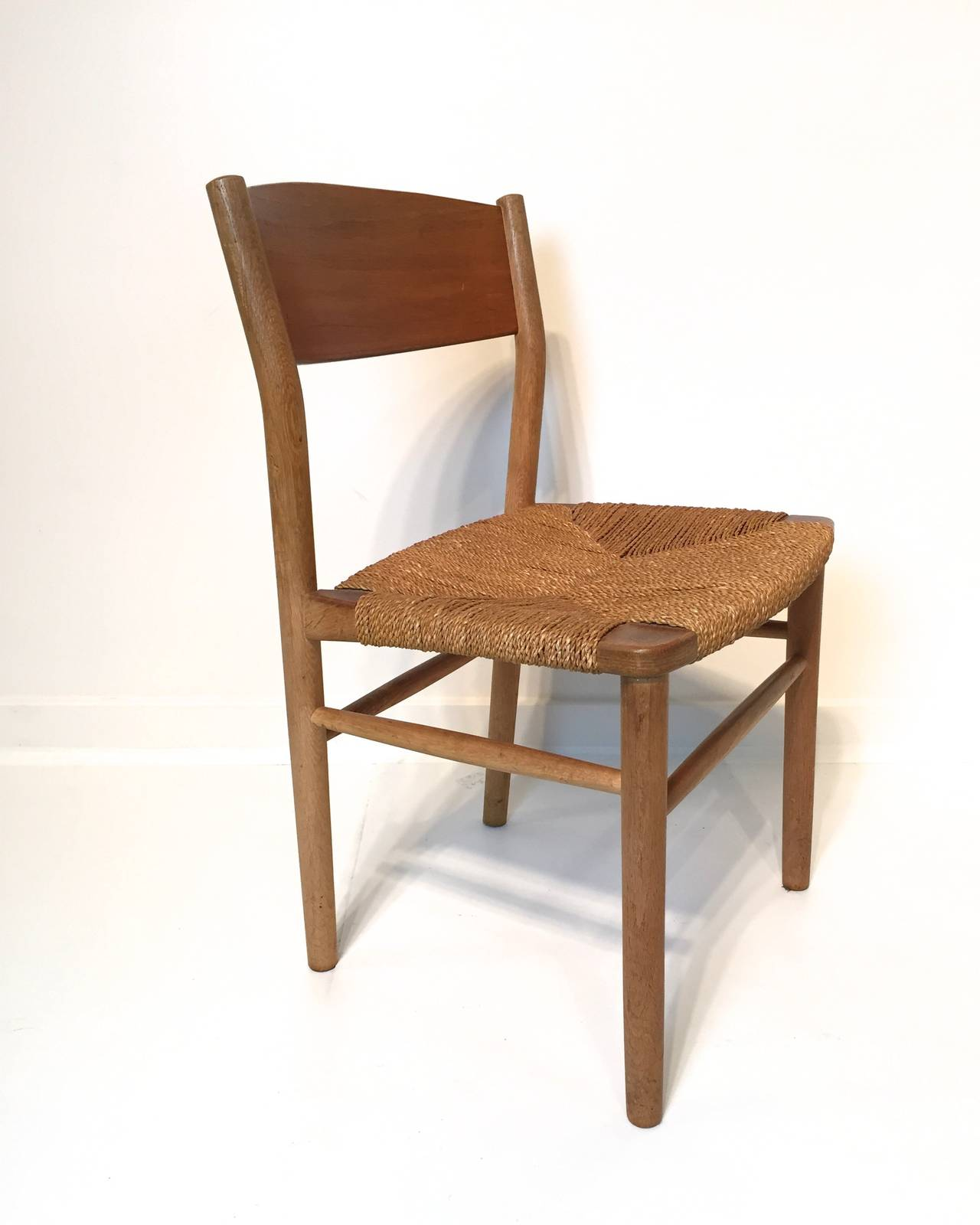 Seagrass Dining Chairs Borge Mogensen Seagrass Dining Chair At 1stdibs