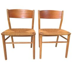 Seagrass Dining Chairs Beach Chair Cover Borge Mogensen At 1stdibs