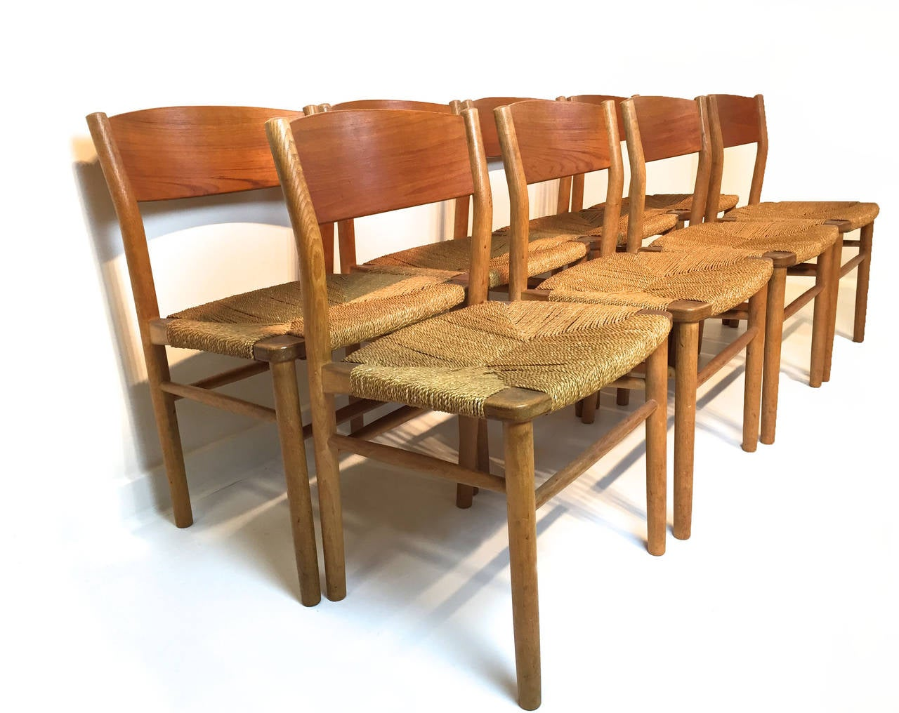 seagrass dining chairs most expensive gaming chair in the world borge mogensen at 1stdibs