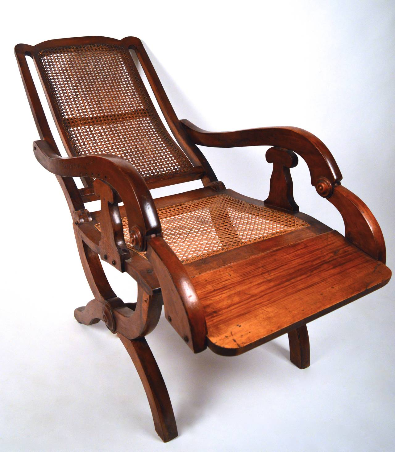 british colonial chair woven plastic garden chairs 19th century reclining for sale at