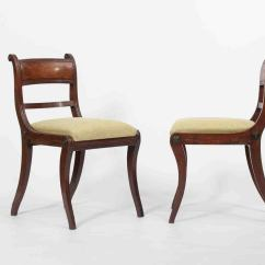 Set Of Six Dining Chairs For Sale Ergonomic Chair Ikea Canada 19th C Regency At 1stdibs