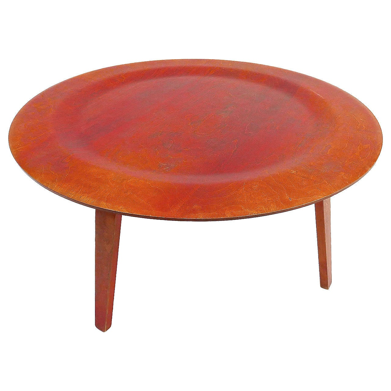 Dish Chair Charles And Ray Eames Dish Table At 1stdibs