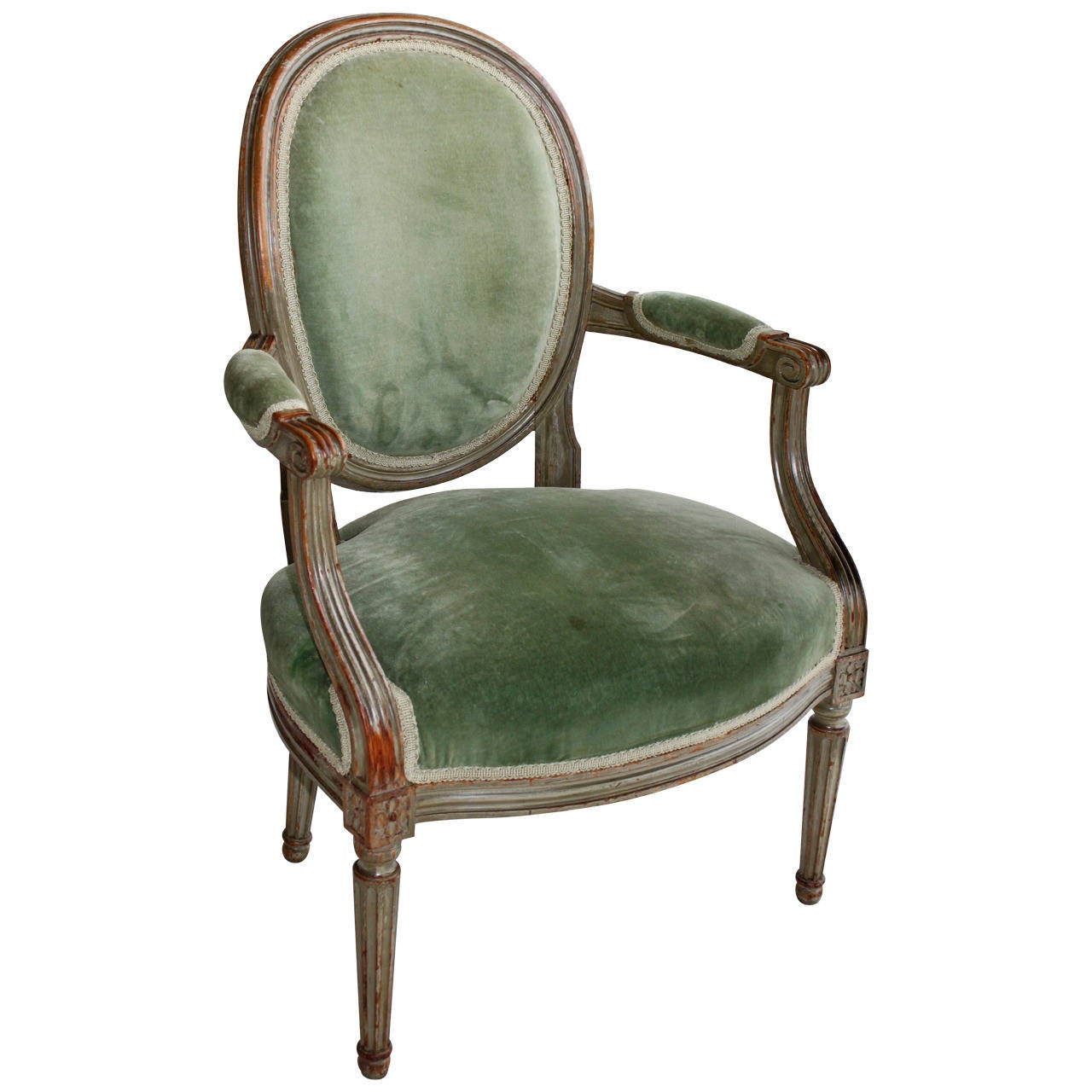 Louis XIV Fauteuil Chair at 1stdibs