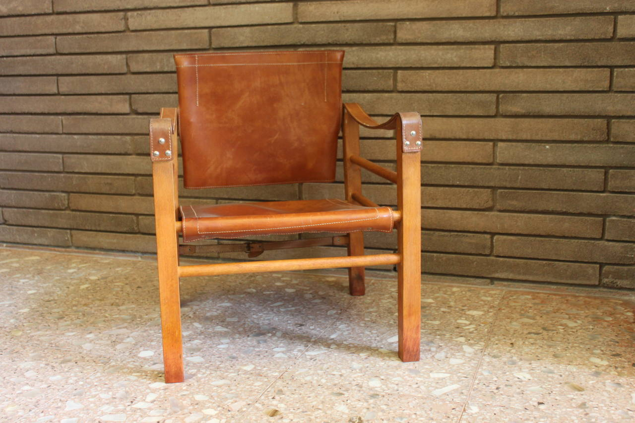 safari high chair bentwood thonet chairs for sale cognac leather at 1stdibs