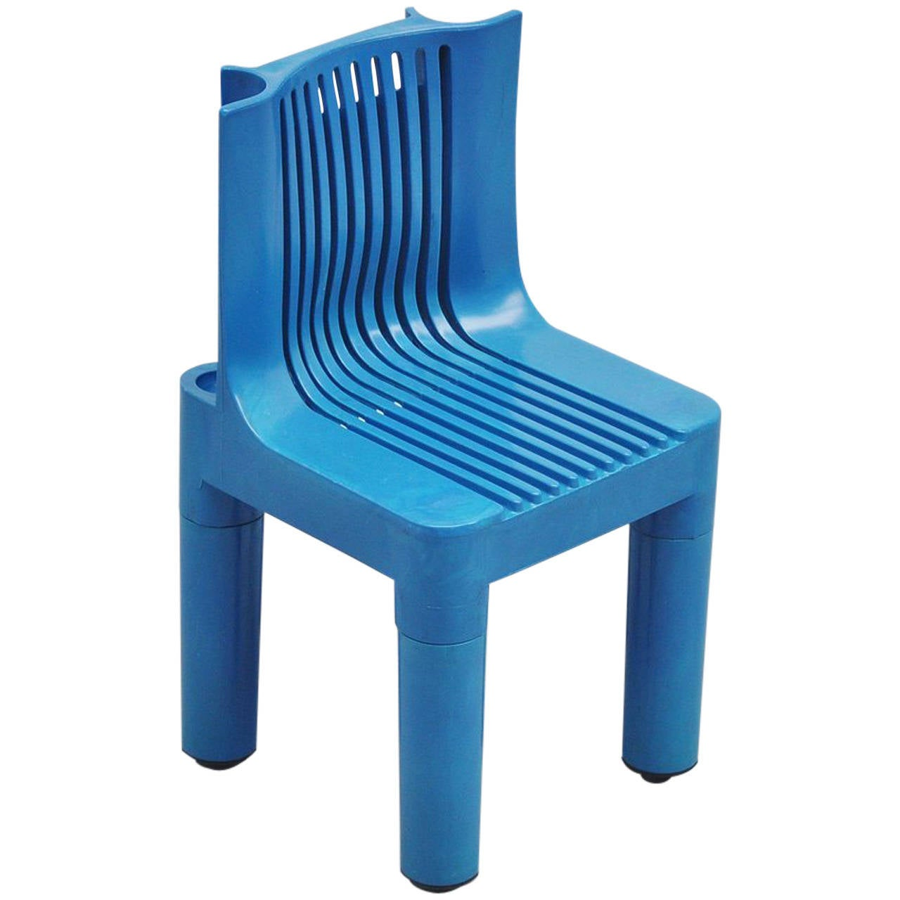 Children's Gaming Chairs Marco Zanuso Blue Child 39s Chair For Kartell 1964 At 1stdibs