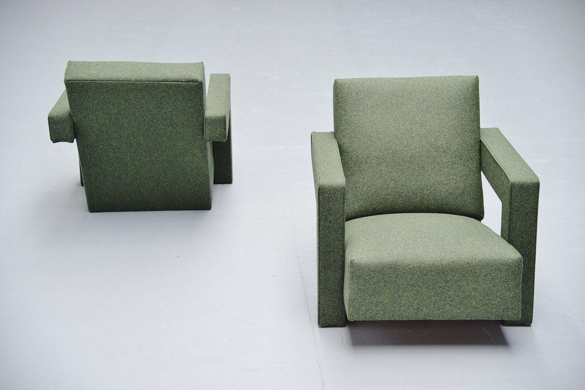 gerrit thomas rietveld chair hanging toronto utrecht chairs metz and co 1961 at