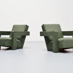 Gerrit Thomas Rietveld Chair Papasan Cushion Ikea Utrecht Chairs Metz And Co 1961 At