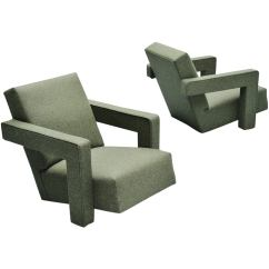 Gerrit Thomas Rietveld Chair How To Recover Glider Cushions Utrecht Chairs Metz And Co 1961 At