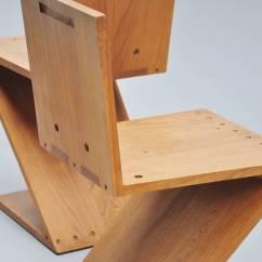 Gerrit Thomas Rietveld Chair Osaki 4000 Massage Zig Zag Chairs Gerard Van De