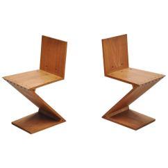 Gerrit Thomas Rietveld Chair Bedroom Makeover Zig Zag Chairs Gerard Van De