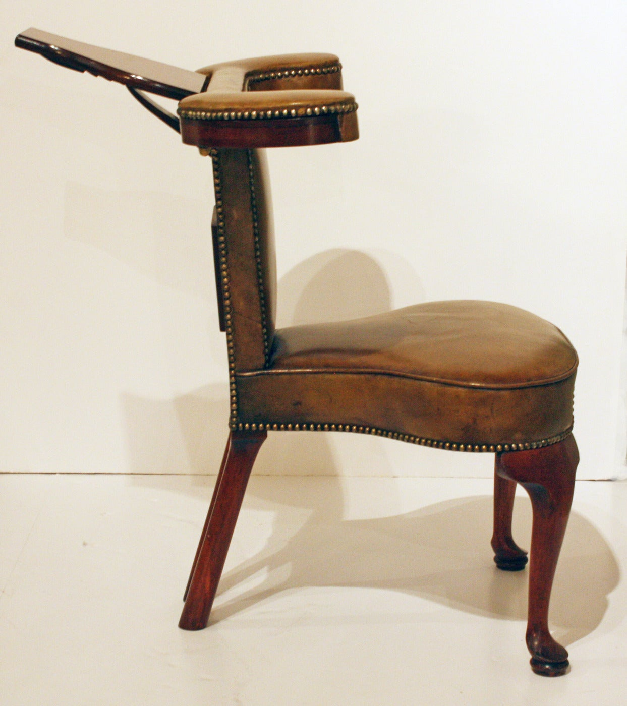 gentlemans chair plaid wingback gentleman 39s cock fighting or library at 1stdibs