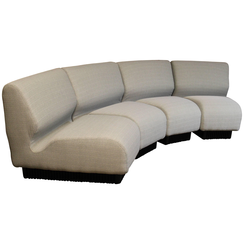 chadwick sofa friheten corner bed review mid century modern don modular or sectional set for herman miller