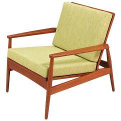 Teak Lounge Chair Large Living Room Covers Danish Modern Denmark For Sale At 1stdibs
