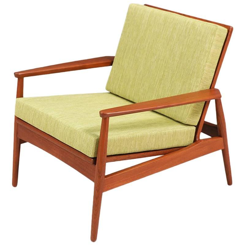 Danish Modern Lounge Chair Danish Modern Teak Lounge Chair Denmark