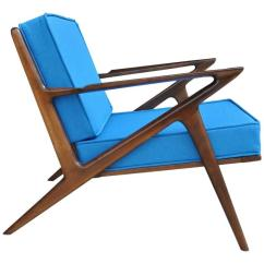 Z Chair Mid Century 2 X 4 Wood Chairs Vintage Midcentury By Poul Jensen For Selig Sale At 1stdibs